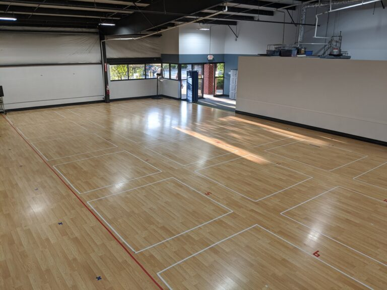 Dance studio 1 back