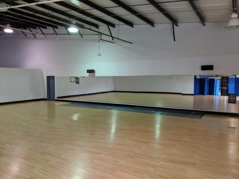 Dance studio 1 front